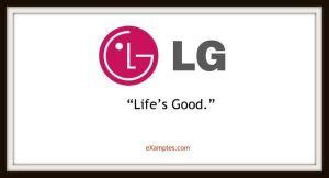 slogan firmy lg