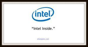 slogan firmy intel