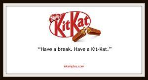 slogan firmy kit kat
