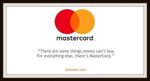 slogan firmy mastercard