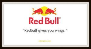 slogan firmy redbull