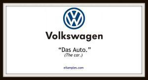 slogan firmy volkswagen