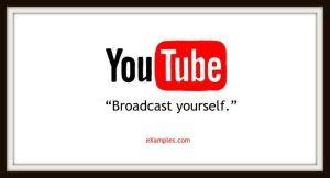 slogan firmy youtube