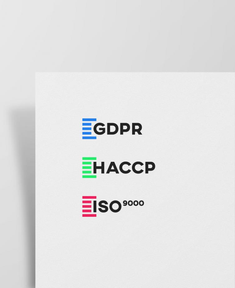 Pictograms – certification standards